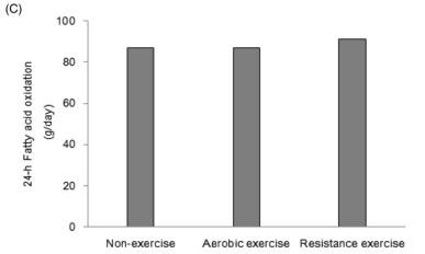 exercise fat oxidation